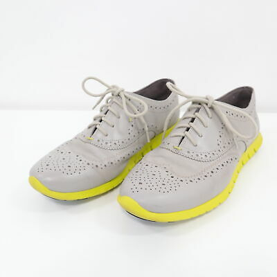 f1bfc410260 Cole Haan ZeroGrand Oxfords Wingtip Womens 9.5B Lace Up Shoes Paloma/Volt  Taupe