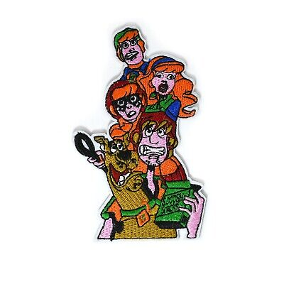 """Scooby-Doo Fred Daphne Velma & Shaggy Gang Embroidery Patch Iron Patches 2 x 4"""""""