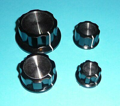 Potentiometer Button Knob Volume etc. Oldscool Vintage Amp Aluminum