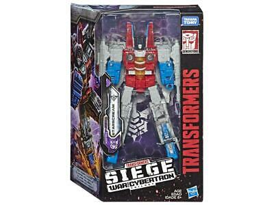 Transformers Generations War for Cybertron Voyager WFC-S24 Starscream Figure