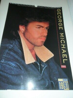 George Michael 1991 Calendar Kalender Calendario Calendrier WHAM! Photo Photos