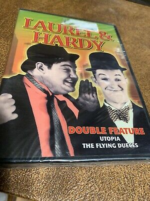 Laurel & Hardy: Utopia 1951 / The Flying Dueces 1939 - Double Feature DVD
