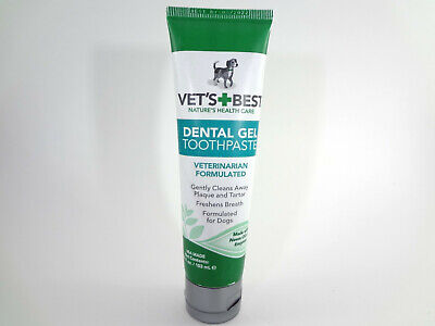 Vet's Best Nature's Health Care Dental Gel Toothpaste for Dogs 3.5oz [HB-V]
