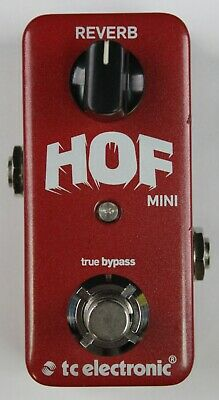 TC Electronic Hall Of Fame Mini Reverb Guitar Effects Pedal, VG Cond! #ISI5367