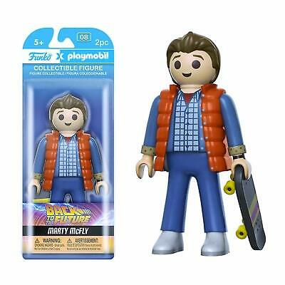 "Funko Back to the Future Marty McFly 6"" Playmobil Collectables Toy Vinyl Figure"