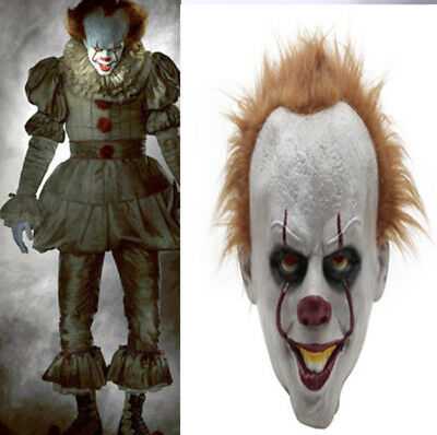 """Stephen King IT Clown 1/"""" Wide Repeat Ribbon Sold in Yards USA SELLER"""