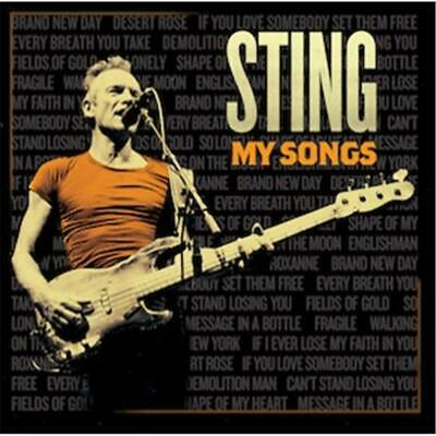 Sting My Songs Deluxe Edition 4 Extra Tracks DIGIPAK CD NEW