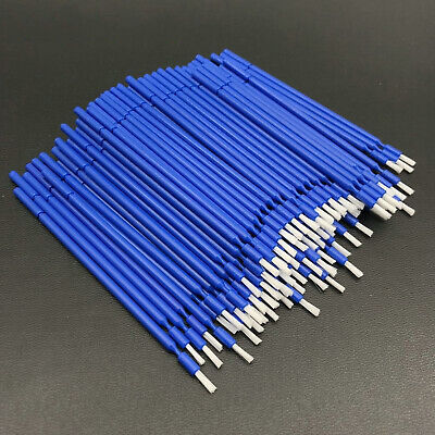 100pcs Dental Long Disposable Micro Applicators Brushes Teeth Whitening Brush