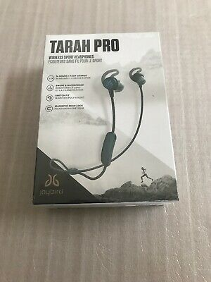 "Jaybird - Tarah Pro Wireless In-Ear Headphones Mineral Blue/Jade "" New """