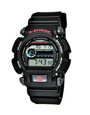G-shock Men's DW9052-1V Casio  Black Stainless Steel and Resin Digital Watch