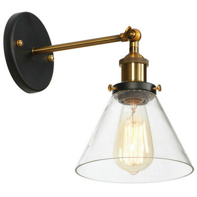 Swing Arm Wall Lamp Indoor Wall Light Kitchen Glass Wall Sconce Porch Lighting