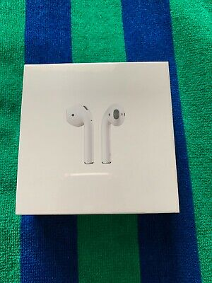 Apple Airpods 2nd Generation with Wireless Charging Case White MRXJ2AM/A New