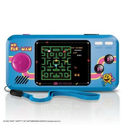 My Arcade Ms. Pac-Man Pocket Player Portable 3 Games: Ms Pac-Man, Sky Kid, Mappy