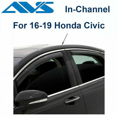 Auto Ventshade AVS 194065 4pc In-Channel Ventvisor for Dodge Avenger