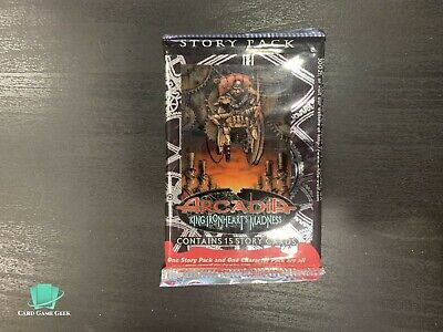 Arcadia King Ironheart/'s Madness Story Pack 24-pack Booster Box Lot For CCG TCG