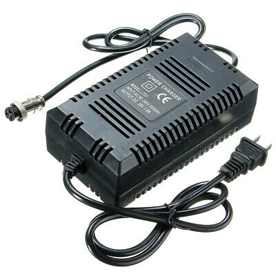 36V Lead Acid 1.6A - 1.8A Amp Battery Charger W/ plug for Electric Bike Scooter