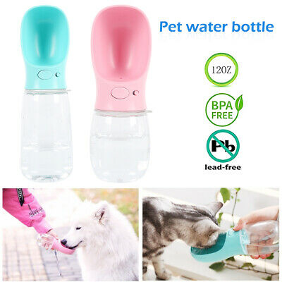 Portable Water Bottle Puppy Dog Cat Pet Cup Outdoor Walking Travel Feeder Drink