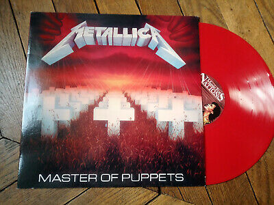 METALLICA Master of puppets LP Vinyl Couleur