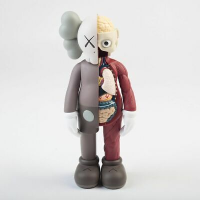 KAWS - Companion Flayed (Brown) - Vinyl sculpture Open edition Unopened box