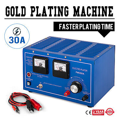 30A PLATINUM SILVER Gold Plating Machine Jewelry Plater