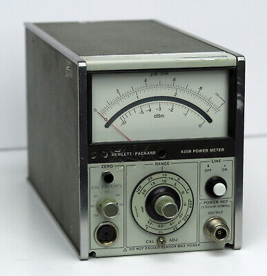 HP Keysight 435B Analog Power Meter