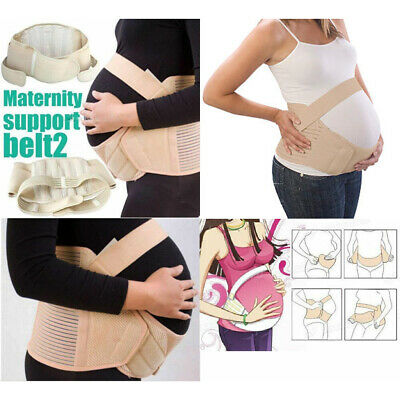 Maternity Pregnancy Support Belly Band Prenatal Care Postpartum Corset Belt UK A