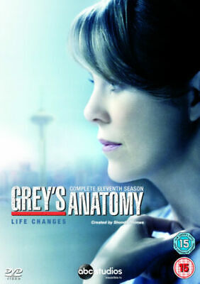 Grey's Anatomy Complete 11th Season Dvd Brand New & Factory Sealed