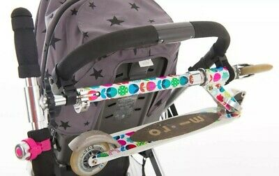 Scooter Grip / Holder for Buggies, Strollers, Universal My Buggy Buddy x2