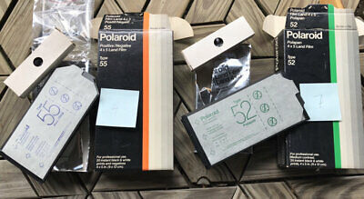 Polaroid 55 and 52 instant film Camera, expired old outdated