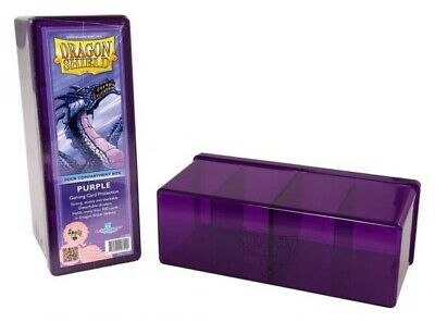 Dragon Shield - 4 Compartment Storage Box Purple - Karten Box