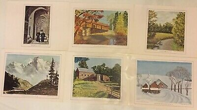 6 Color Prints Eisenhower College Collection 1968 - 8 x 10inch paper size