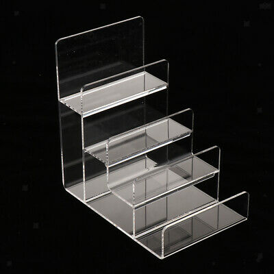 1 pc Clear Acrylic Display Stand Shelf for Shopping Mall Sales, 4-Tier