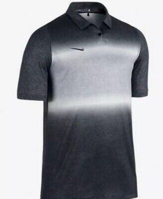 3f088888 Nike 2017 Tiger Woods TW COLOR Men's Golf Polo Gray Sz M 685861-010 $115