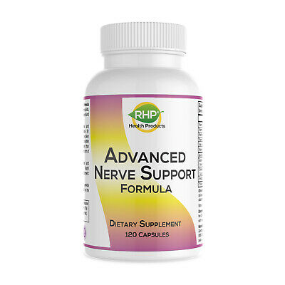 Advanced Nerve Support Formula - Nutritional Support for Neuropathy Pain Relief.