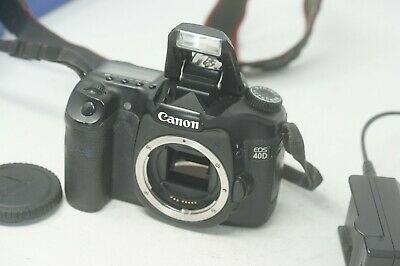 Canon EOS 40D 10.1MP Digital SLR Camera - Black Body Only
