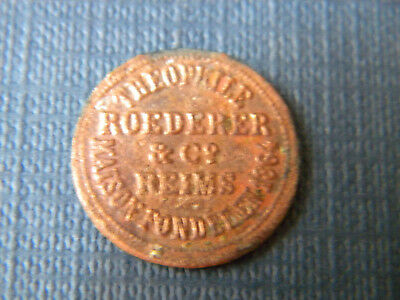 Capsule Theophile Roederer & Cie Reims. 1864.