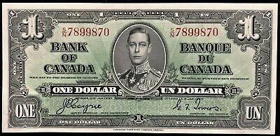 1937 Bank of Canada $1, Coyne-Towers S/N