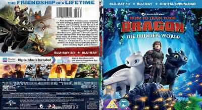 How to Train Your Dragon: The Hidden World 3D Blu-ray