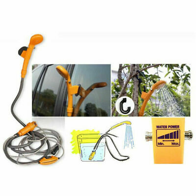 12V Camping Shower DC Car Shower Washer Set Electric Pump For Outdoor L7M2G