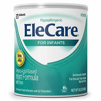 EleCare For Infants (0-12 months) Unflavored Powder with DHA/ARA, 14.1OZ