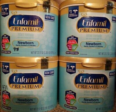 4 Tubs of Enfamil Newborn