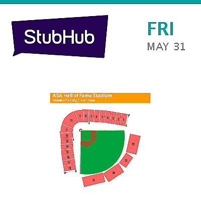 2019 NCAA Womens College World Series Session 3 Tickets (Ariz... - Oklahoma City