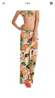 63b76d7066 Retail $ 140 TRINA TURK MODERN GARDEN Cover Up Swim Pants Size Medium