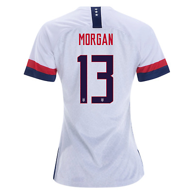 cff69fd69 Nike Alex Morgan #13 Usa 2019 World Cup Uswnt Us Home White Womens Soccer  Jersey