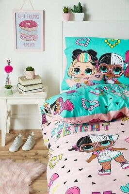 LOL SURPRISE SINGLE or DOUBLE Duvet Cover Sets Or Cushion or Throw