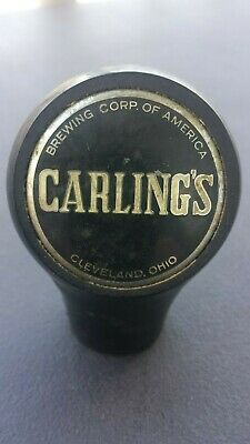 Vintage Carling's Beer Ball Knob Tap Handle - 1930's - Cleveland, Ohio