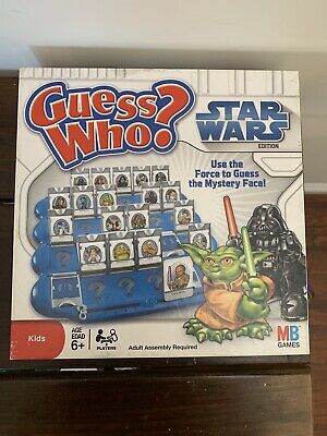 Guess Who? Star Wars Edition, 2008, MB Games, Family Fun, Process of Elimination