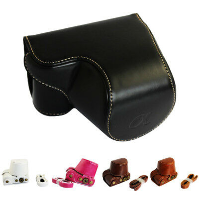 FJ- EP_ Case Cover Protective Pouch Camera Bag for Sony A5000 A5100 NEX-3N Luxur