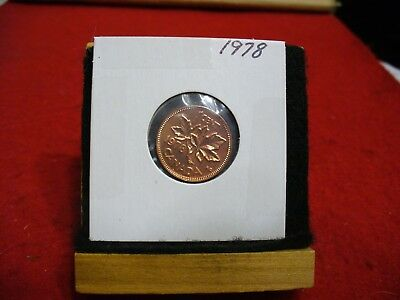 1978  Canada  1  Cent Coin  Penny  Proof Like  High  Grade  Sealed  See Photos