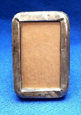 Small Antique Silver Frame Hallmarked Chester 1914